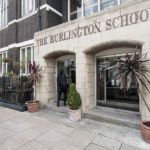 Burlington School Entrance
