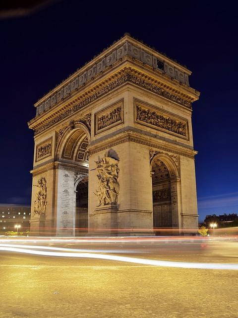 French Courses France Paris Arc de Triomphe