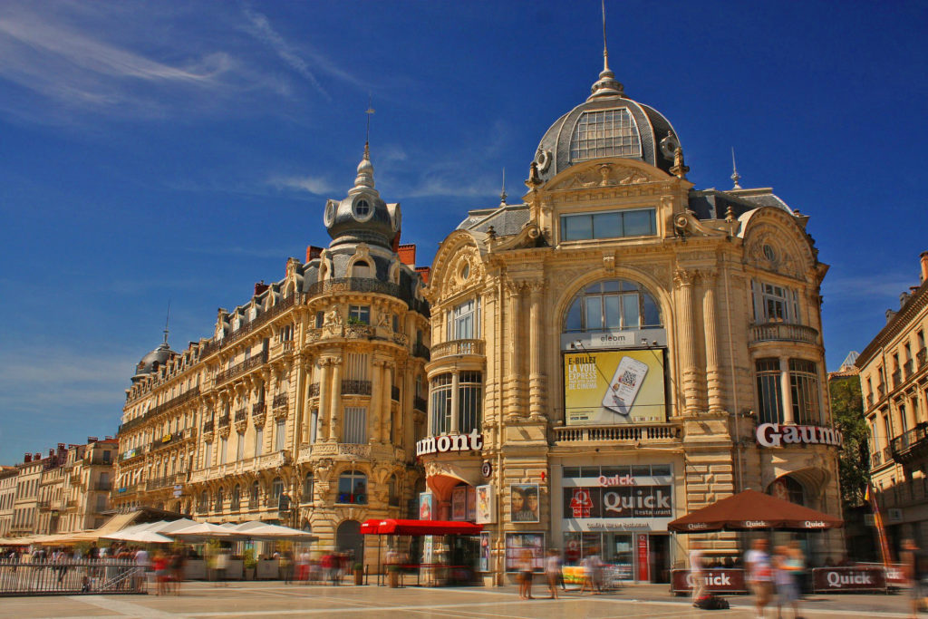 montpellier french language holiday