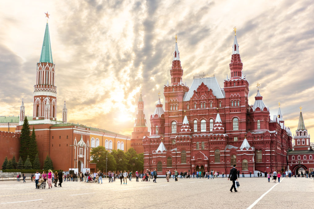 Best Places to Visit at Easter - Moscow, Russia